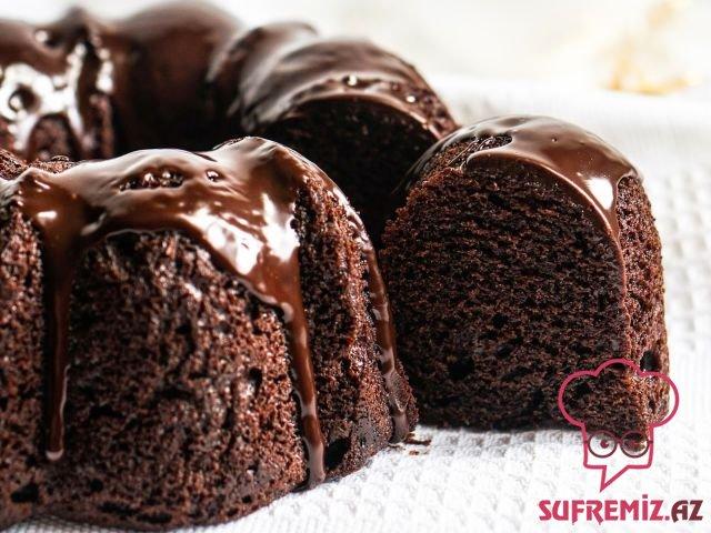 Kakaolu yaş keks (ıslak kek) resepti