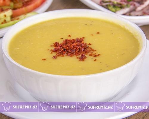 Qırmızı mərci supu