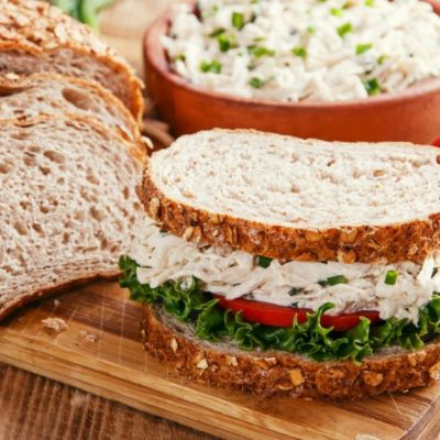 - haslanmis tavuklu sandvic 400x400 - Balıq ləvəngi