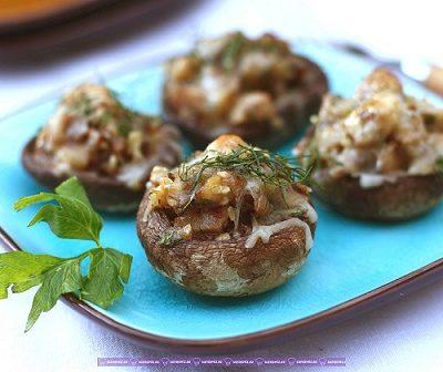 - stuffed mushrooms2 400x336 - Southhwest Toyuq salatı