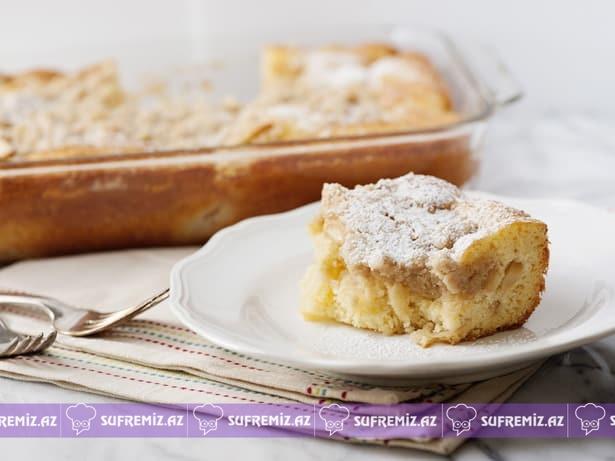 Almalı keks resepti