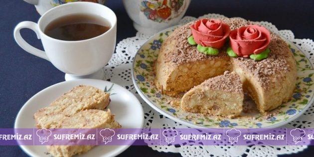 Peçenyedən hazırlanan asan tort