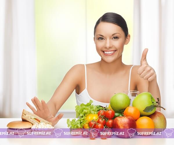 - eat healthy - Metabolizmanı gücləndirən və yağların əriməsini sürətləndirən 5 təbii və təsirli metod.
