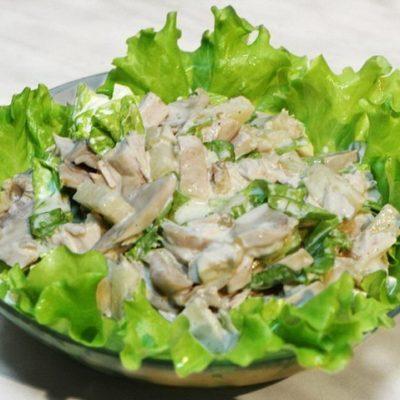 - orig 400x400 - Mal əti ilə göbələkli salat